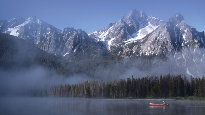 Idaho scenic travel documenary, Stanley Lake, travel show, scenic Idaho